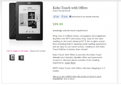 Kobo Touch Now Comes With Ads - $99 e-Reading Hardware