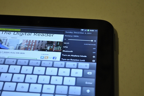 Another TouchPad Go Shows up on Ebay e-Reading Hardware