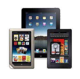 Nook Tablet Bests Kindle Fire, iPad 2 in Display Tests e-Reading Hardware