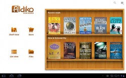 Aldiko Updated - Now Optimized for Android Tablets e-Reading Software
