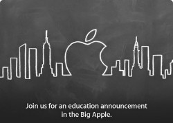 Apple to Take on Digital Textbooks Next Week in NYC Conferences & Trade shows