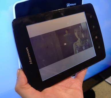 Hanvon C18 Mirasol eReader Debuts at CES, Due Out in February Conferences & Trade shows e-Reading Hardware