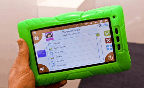 Kurio Kid's Android Tablet Launches This Summer e-Reading Hardware