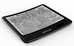 Wexler's Flexible eReader Shows up at IFA (video) e-Reading Hardware