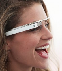 Google Glasses Spotted in the Wild e-Reading Hardware