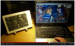 Kindle DX Hacked to Act as a Second Monitor (Video) e-Reading Hardware