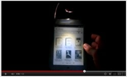 Nook Touch Hacked with LED Light (video) e-Reading Hardware