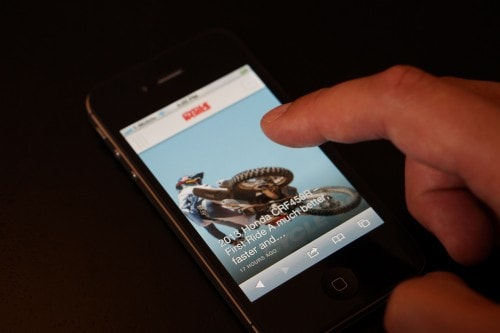Onswipe Launches New Theme Builder, iPhone Blog Theme Uncategorized