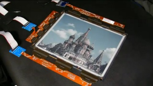 Plastic Logic Unveils a Flexible Color ePaper Screen (video) e-Reading Hardware