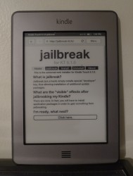 Kindle Touch Jailbreak Gets Even Easier Piracy