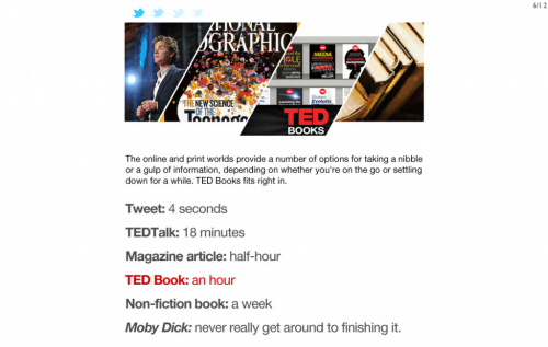 TED Books Launches New iPad App with Enhanced eBooks eBookstore