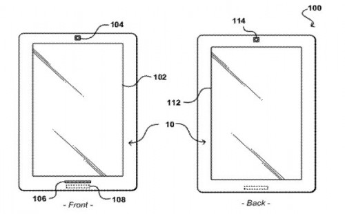 Amazon Files Patent for Dual Screen Tablet e-Reading Hardware