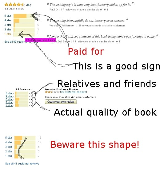 How to Judge Amazon Reviews Infographic