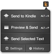 Amazon Launches Redundant Chrome Plugin - Send to Kindle Kindle Web Browser