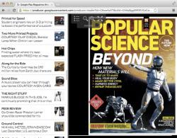 Google Releases New Magazine Reader App for Chrome e-Reading Software Google
