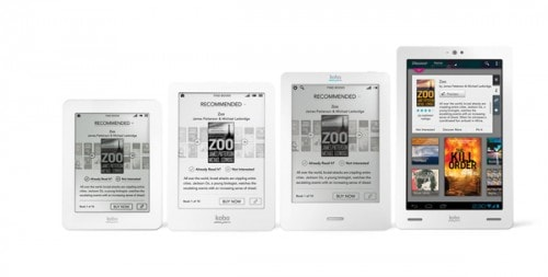 New Kobo eReaders Now Available in Some Stores in UK and Canada e-Reading Hardware