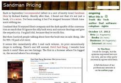 When Price-Gouging isn't Price-Gouging eBookstore