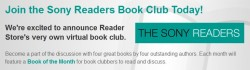 Sony Reader Store Launches New eBook Club eBookstore