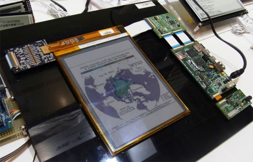 Project Vivit Shows Off Video Playing on Color E-ink Screen e-Reading Hardware