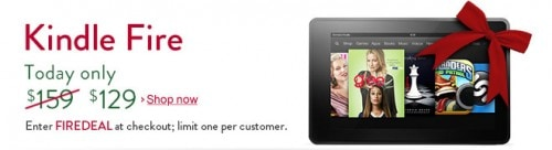 Kindle Fire is On Sale Today - $129, £99, and €129 e-Reading Hardware