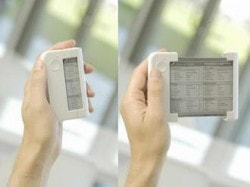 Wistron Folds Up Polymer Vision - Collapsible eReaders Are Once Again Science Fiction e-Reading Hardware