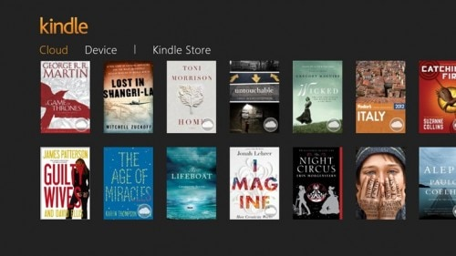 Kindle for Windows 8/RT Updated With Better Support for Touchscreens Amazon e-Reading Software eBookstore