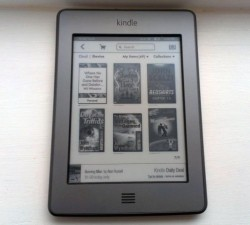 Kindle Touch Updated with Features from the Kindle Paperwhite Amazon e-Reading Software