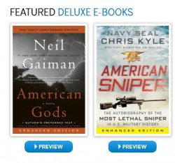 harpercollins enhanced ebooks