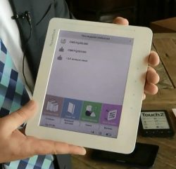 """Pocketbook Unveils the World's First 8"""" Color E-ink eReader in Russia (video) e-Reading Hardware"""