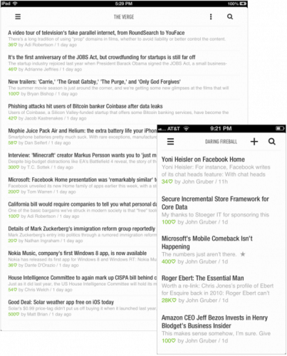 Feedly for iOS, Android Updated - Finally a Serious Mobile Google Reader Replacement News Reader