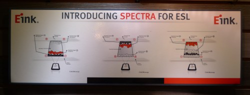 e-ink spectra electronic shelf label 1