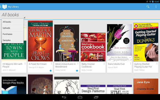 Google Play Books for Android, iOS Updated With New Cloud Storage Support e-Reading Software Google Google Books
