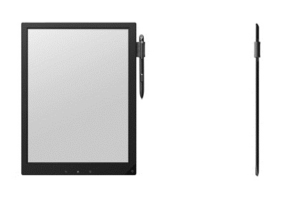 sony large screen ereader