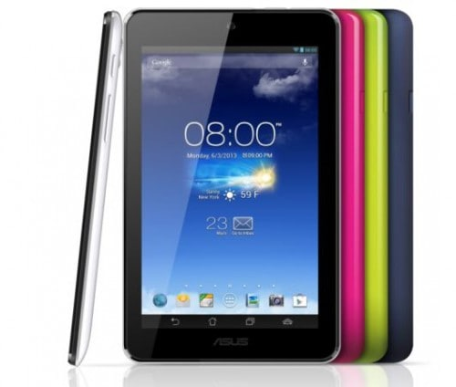 Asus MeMO Pad 7 HD is Coming Soon, Will Cost $129 e-Reading Hardware