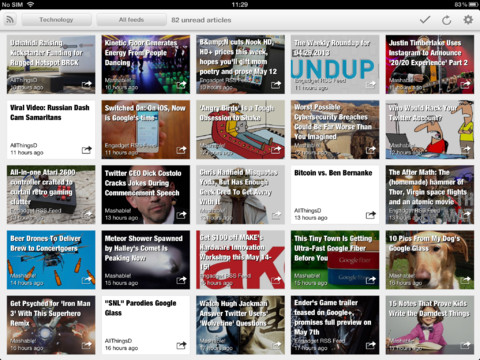 Erudito Offers a New iPad-Only Alternative to Google Reader Google Reader Alternatives News Reader