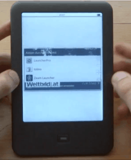Tolino Shine Hacked - Revealed to be an Onyx E-ink Android Tablet e-Reading Hardware