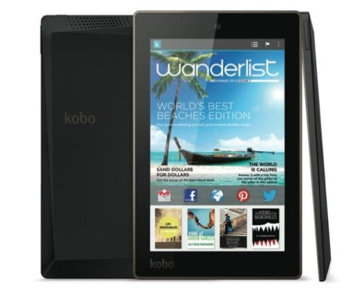 """Kobo Launches New 6"""" eReader, New 7"""" and 10"""" Android Tablets e-Reading Hardware"""