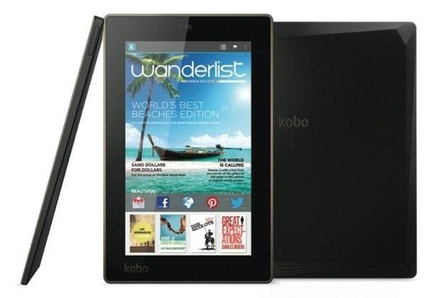 Review Kobo Arc 7 The Digital Reader