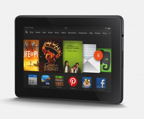 Amazon Launches 3 New Kindle Fire Tablets - Will Ship next Month Amazon e-Reading Hardware