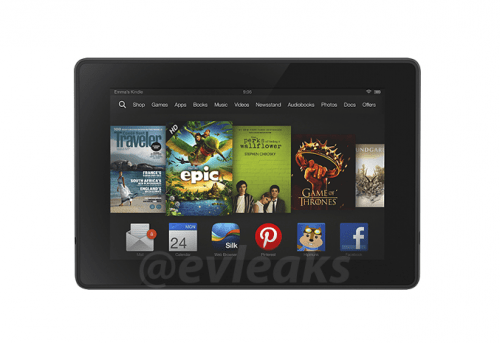 New Leaked Image Reveals New Interface for the Next Kindle Fire HD Amazon e-Reading Hardware