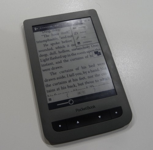The Pocketbook Touch Basic Ships in October, Will Cost $99 Euros (or Less) e-Reading Hardware