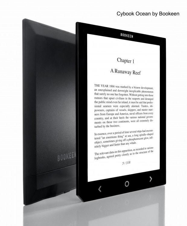 Bookeens 8 cybook ocean ebook reader delayed again the digital when the bookeens 8 cybook ocean ebook reader delayed again e reading hardware fandeluxe Images