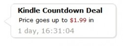 Amazon Adds a Nifty Countdown Timer to Kindle Sales Offers eBookstore