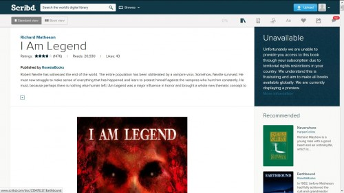 scribd ebook inaccessible