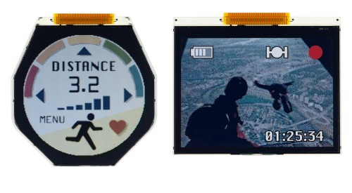 Japan Display Takes Aim at Smartwatch Market With New Low-Power LCD Watch Faces Screen Tech