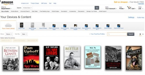 manage your Kindle redesign 1