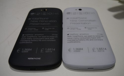 New Yotaphone Boasts Larger E-ink, LED Screens and a Sleeker Design E-ink e-Reading Hardware