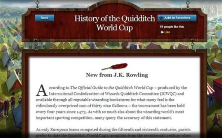 Pottermore Publishes New Work by JK Rowling Uncategorized