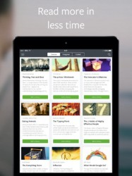 Blinkist Launches iPad App, Wants to Give You the Gist of Books in 15 Minutes or Less Condensed eBooks e-Reading Software