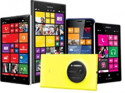Nokia smartphones running Windows Phone